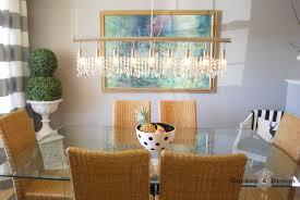 diy crystal vanity shades cuckoo4design in vanity dining room light fixture regarding inspire