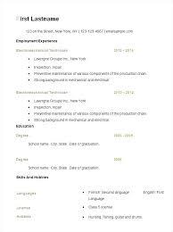 Simple Resume Sample Custom Resume Format Samples Simple Sample Resume Examples Resume Samples