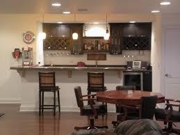 Living Room Bar Designs Simple Home Bar Ideas Table Bar Varnished Wood Large Round