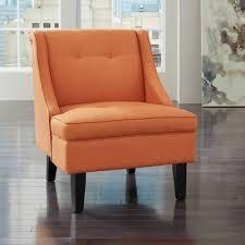 ashley furniture clarinda accent chair in orange  local furniture