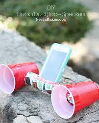 duck tape speakers diy
