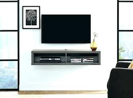 tv wall mount with shelf for cable box wall mounts with shelves wall shelf shallow wall