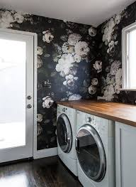 The Important Design Lesson I Learned from These Laundry Rooms. Bold  WallpaperBotanical ...