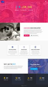 Resume Website Template Resume Website Template Luxury Demo for Flex Portfolio Resume 36
