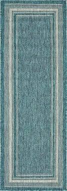 teal runner rug main image of rug light teal runner rug