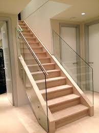 ... Glass Staircase Banister Glass Stair Railing Elegant And Safety Glass  Stair Glass Stair Railing Banister Banquette ...