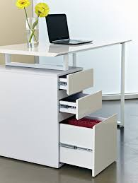 com unique furniture 220 wh writing desk with drawers white kitchen dining