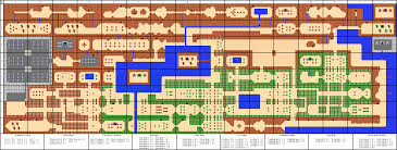 the legend of zelda  overworld map