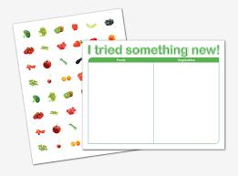 Moms Daily Adventures Free Printable Fruit Veggie