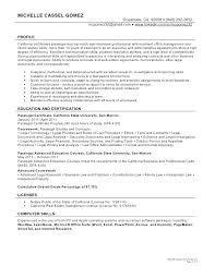 Example Paralegal Resume Paralegal Job Description Resume Paralegal