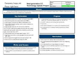 Project Status Report Template Pmo – Vraccelerator.co