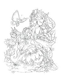 Fairy Tale Coloring Pages Unicorn Fairy Coloring Plus Fairy Color