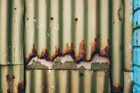 free stock photo of corrugated metal wall created by free texture friday