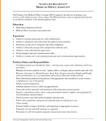 Medical Office Assistant Job Description For Resume Medical Office Manager Resume Examples duke ellington essay 99