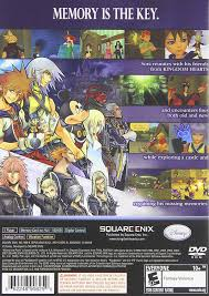 amazon kingdom hearts re chain of memories artist not provided video games