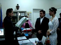 our civil wedding you