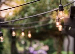 How To Hang String Lights In Backyard Without Trees Gorgeous How To Hang String Lights Outdoors