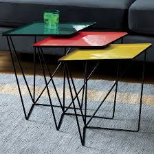 Bright Colored Coffee Tables Bright Colors Shine In The 2015 Spring Collections