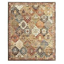 transitional area rugs patchwork medallion multi 5 ft x 7 ft area rug tayse transitional area