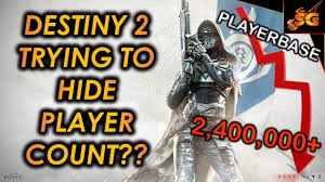 Destiny 2 News Is Bungie Activision Trying To Hide Player Count Following Massive Player Dropoff