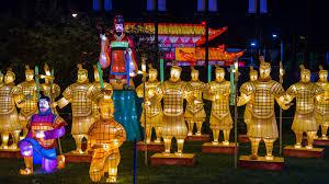 China Lights Dates Philadelphia Chinese Lantern Festival In Franklin Square