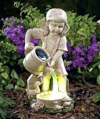 solar garden angel statue outdoor garden statues nice outdoor garden decor statues solar light watering garden