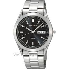 "men s seiko solar powered watch sne039p1 watch shop comâ""¢ mens seiko solar powered watch sne039p1"