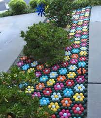 Golf Ball Decorations Golf art golf decorations lawn flowers golf balls painted into 83