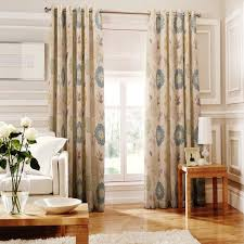 Next Living Room Curtains Whiteheads Islay Eyelet Lined Curtains In Denim Next Day