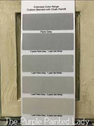 """Differences between Annie Sloan s """"Grey"""" Chalk Paint Colors"""