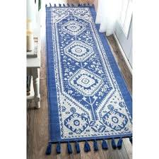 2 x 12 runner rug the curated nomad dragon cotton blue tassel tribal diamond 12 foot wool runner rug 3 x