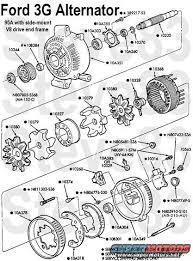 similiar ford 3g alternator wiring diagram keywords ford 3g alternator wiring diagram as well ford ranger alternator