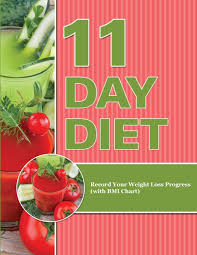 Weight Loss Chart Amazon 11 Day Diet Record Your Weight Loss Progress With Bmi