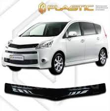 <b>Дефлектор капота CA</b> (мухобойка) <b>Toyota</b> Passo Sette 2008-2012 ...