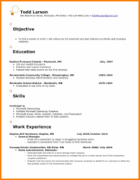 Sample Job Objectives Resumes Example Of Objective In Resume Simple ...