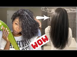 natural hair after aloe vera treatments
