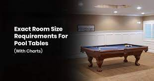 room size requirements for pool tables