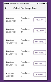 Videocon D2h Monthly Recharge Chart Videocon D2h Recharge 1 7 3 Apk Download Android Shopping Apps