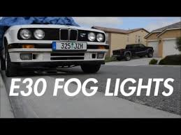 e30 fog lights the build ep 3 e30 fog lights the build ep 3
