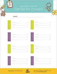 Baby Doctor Visit Chart Doctors Visits Growth Chart Tracker Parenting Must Have