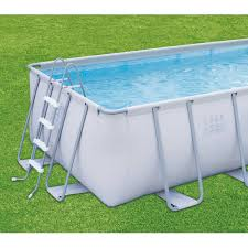 rectangle above ground swimming pool. Summer Waves Elite 18\u0027 X 9\u0027 48\ Rectangle Above Ground Swimming Pool