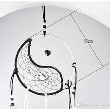 Chinese Dream Catcher Unique Hand Woven Dream Catcher Chinese Traditional Tai Chi Style Wind