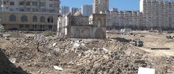 Image result for تخریب یکی دیگر از مساجد مسلمانان در جمهوری آذربایجان