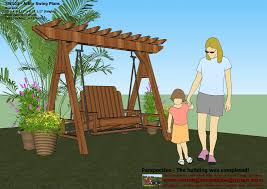 Small Picture The Meserment Design Garden Swing Cedar Pergola Swing How to