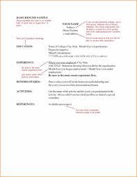 Resume Font Size Name Jobsxs Com
