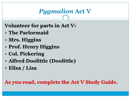 pyg on act iv objective ppt  8 pyg on