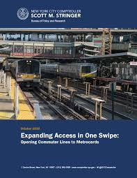 Expanding Access In One Swipe Opening Commuter Lines To