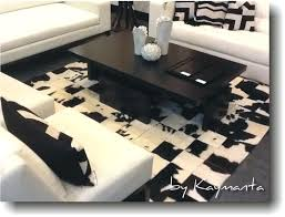 8x10 cowhide rug black white patchwork cowhide rug 8 x ft hair on cow leather carpet