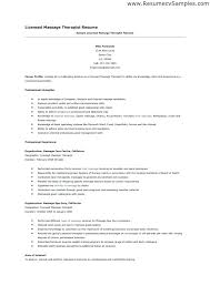 Massage Therapist Resume Inspiration 8416 Massage Therapy Resume Samples Examples Komphelpspro