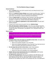 writ b dystopia uc irvine page course hero 2 pages the final reflection essay prompt